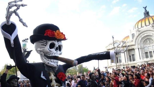 Celebración del Día de los Muertos: culto a la muerte