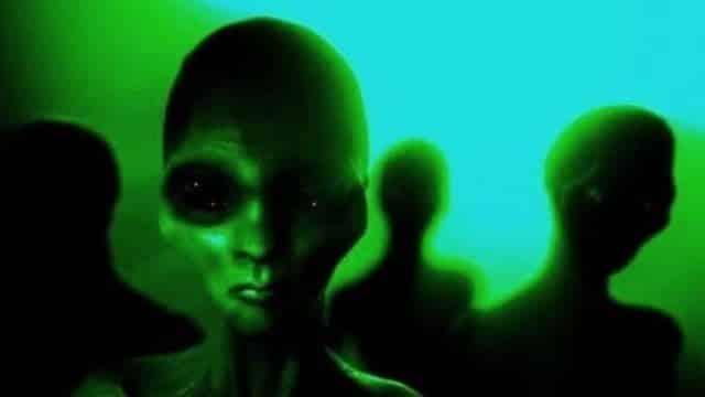 Los hombrecitos verdes, alienígenas en estados unidos
