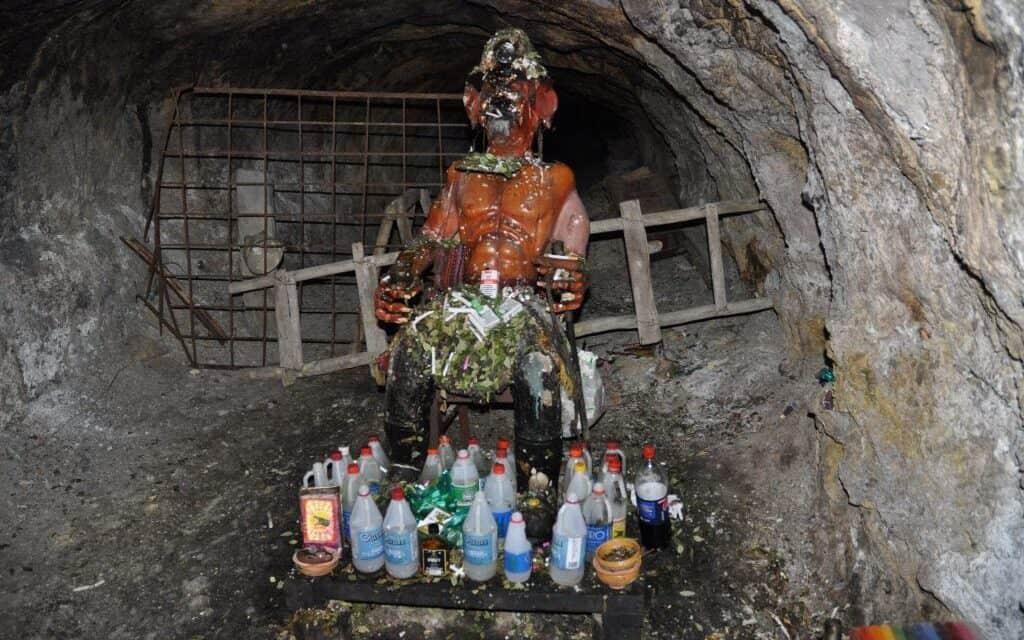 El Tío, el terrible dios de las minas bolivianas