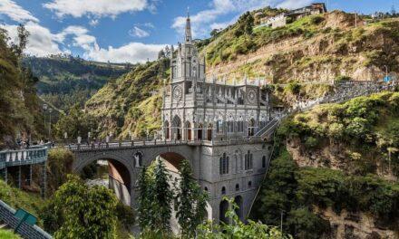 Milagro de la arquitectura: el santuario de las lajas