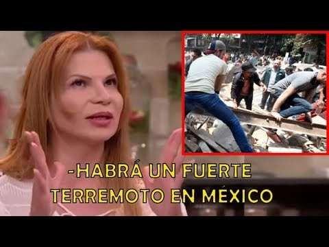 Vidente anunció terremoto en méxico