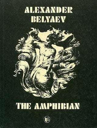 Portada del libro del soviético Belyaev