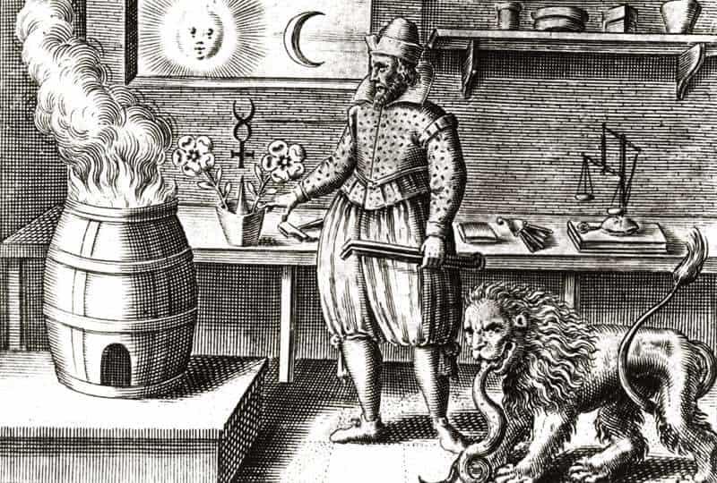 Magos, alquimistas, también trataban de comunicarse con muertos
