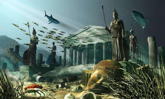 LA ISLA DE CRETA, LA CIUDAD DE LOS DIOSES O ATLANTIS