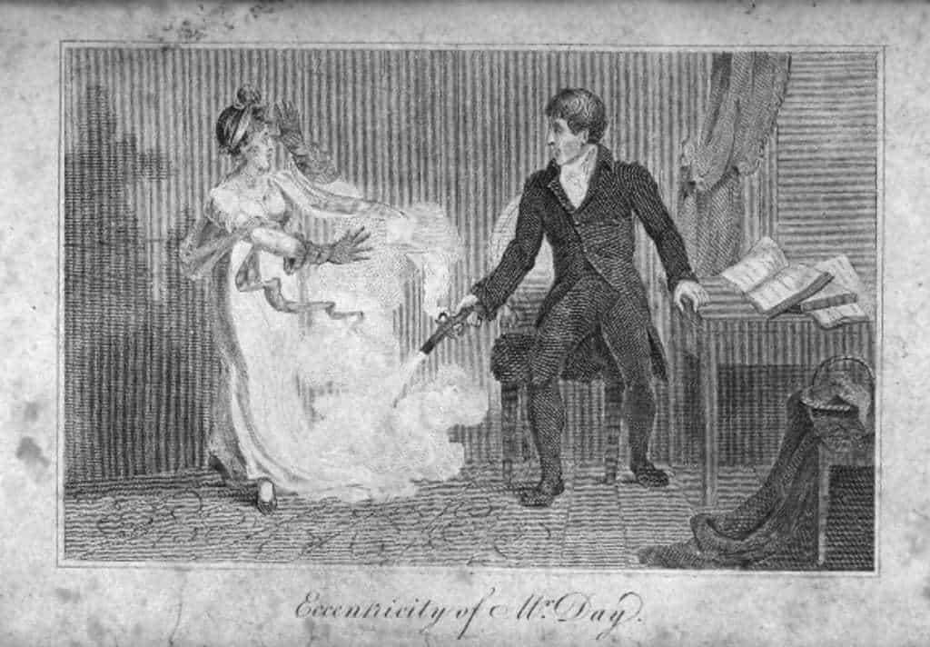 esposa perfecta en 1700