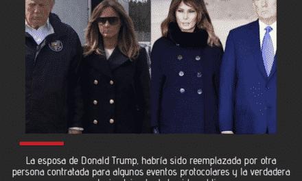 Melania Fake: Esposa de Donal Trump fue suplantada por otra persona